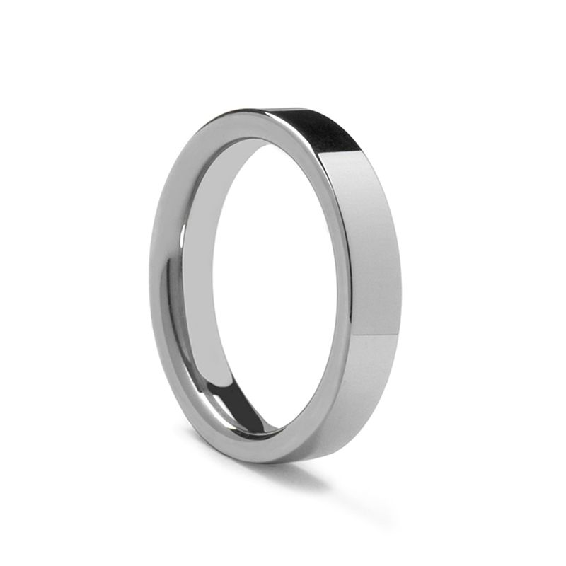 Flat Comfort Fit Palladium Ring by Benchmark