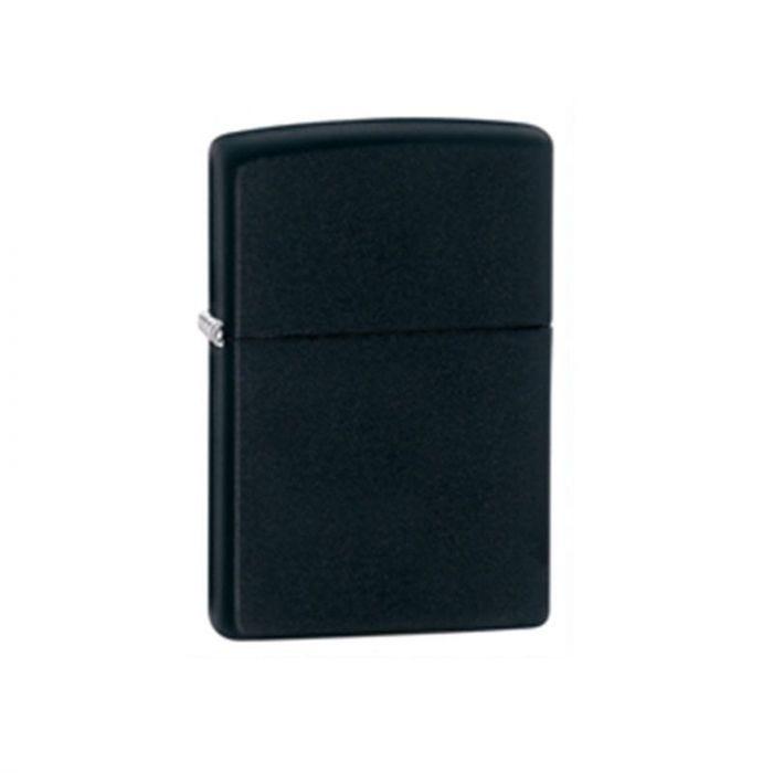 Zippo Lighter Black Matte Classic Engravable Grooms Gift USA