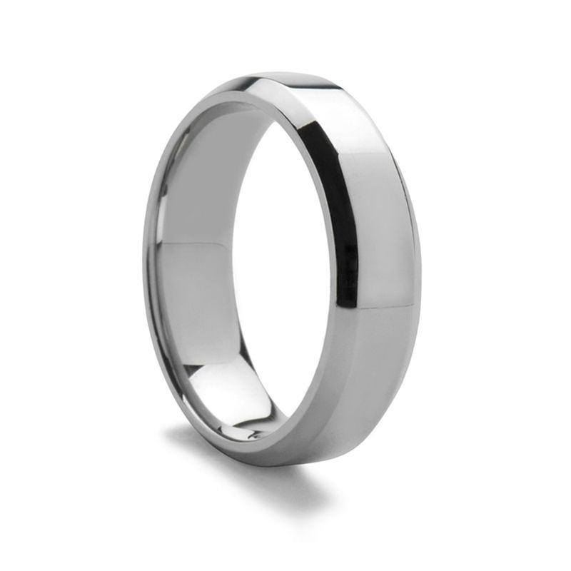 Beveled Palladium Ring - 3mm - 7mm