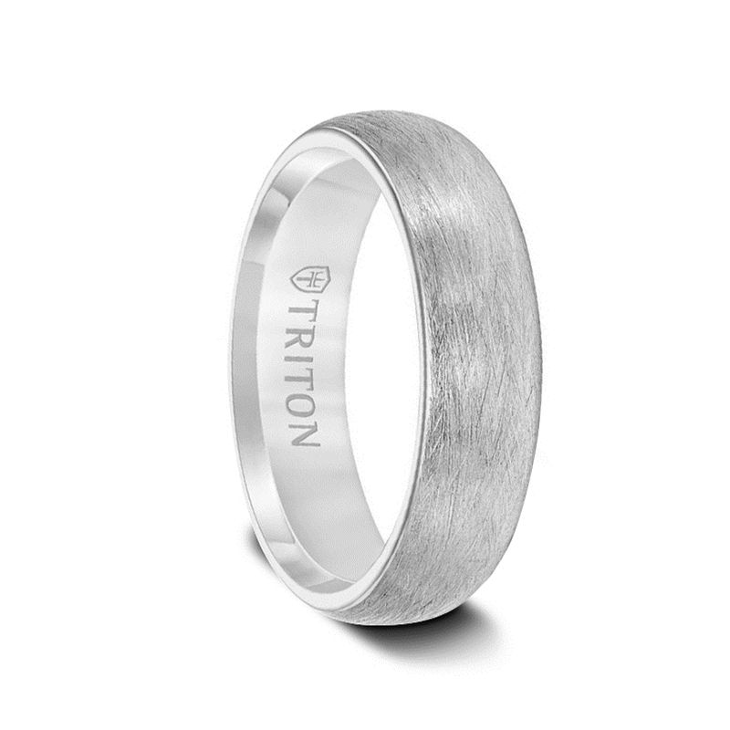 14kt White Gold Hsi Ladies Wedding Band From The Parisi Collection By Scott Kay Larson Jewelers