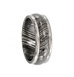 HANNIBAL Timoku Titanium Ring by Edward Mirell - 8 mm