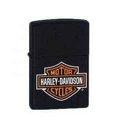 Zippo Lighter Harley Davidson Black Matte Classic Engravable Grooms Gift USA