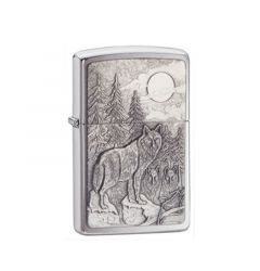 Zippo Lighter Timberwolves Emblem Classic Engravable Grooms Gift USA