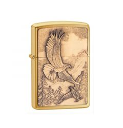 Zippo Lighter Where Eagles Dare Emblem Classic Engravable Grooms Gift USA