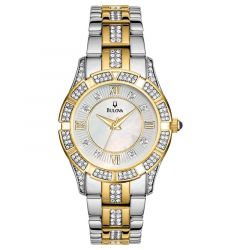 Ladies' Two Tone Bracelet Watch by Bulova