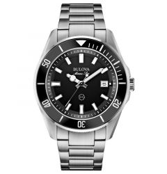 Men's Sport Marine Star Watch Stainless Band by Bulova
