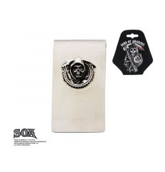 Sons of Anarchy Stainless Steel Grim Reaper Money Clip