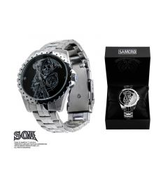 Sons of Anarchy Stainless Steel Water Resistant Watch With Grim Reaper Design