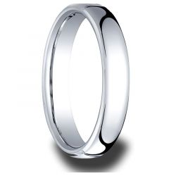 MONTGOMERY Euro Domed Cobalt Ring by Benchmark - 4.5 mm - 6.5mm