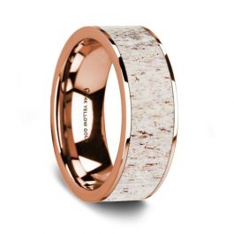 7 Women Ring Size 5 Gemini His /& Hers Dome Comfort Fit Rose Gold Promise Wedding Titanium Ring Set Width 6mm /& 4mm Men Ring Size