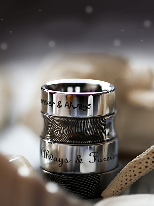 Men's Wedding Rings are Better with Tungsten