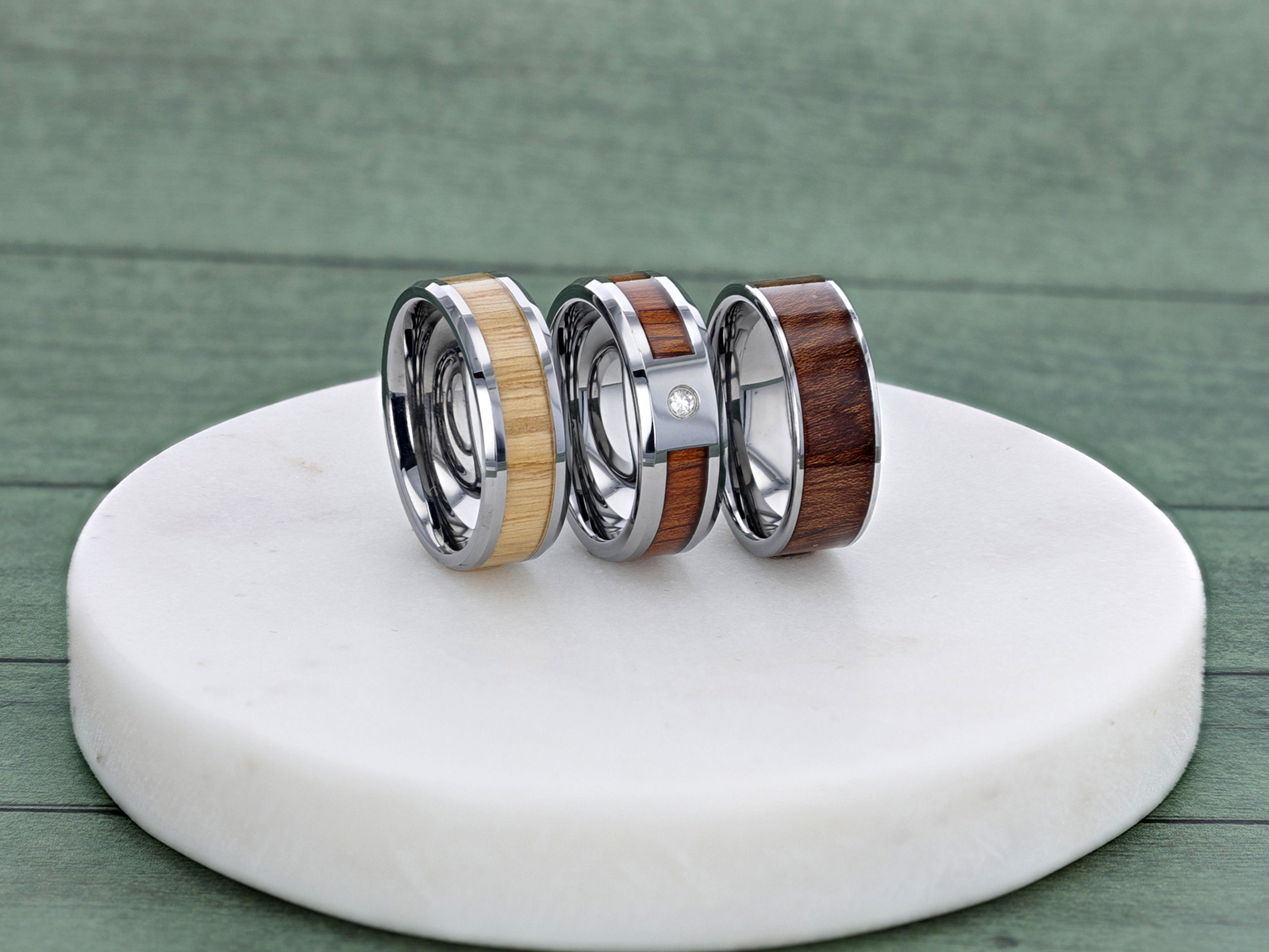 Gorgeous and Rustic: What's the Deal with Wood Rings and Wedding Bands?