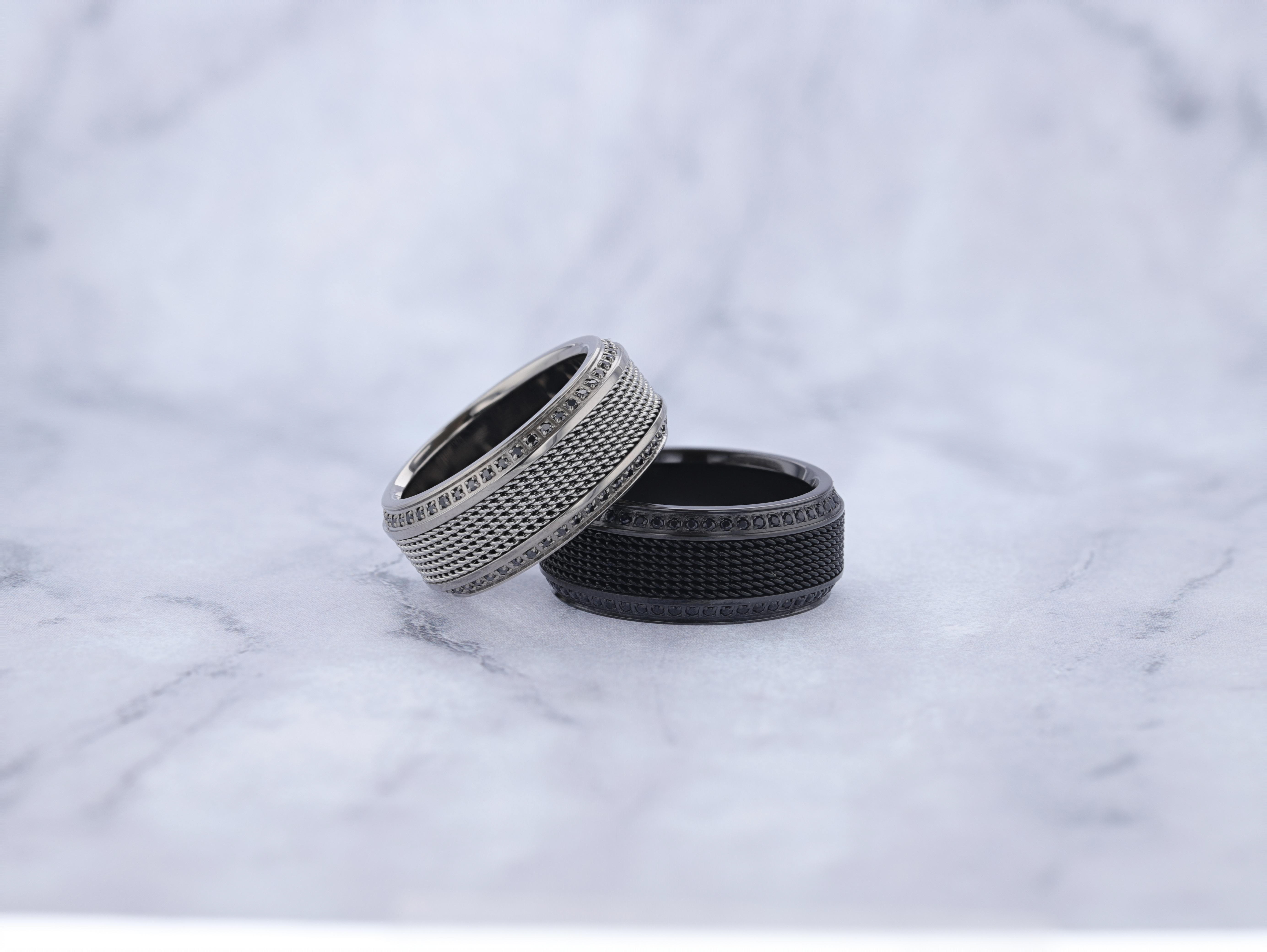 10 Things You Didn't Know About Titanium and Tungsten Wedding Bands